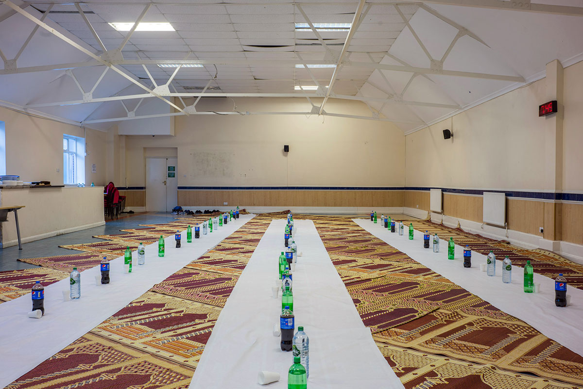 West Ealing Islamic Centre. Photographic print, 75x50cm.